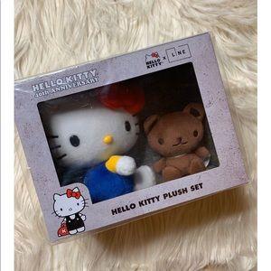 Hello Kitty Plush Set 40th Anniversary LE
